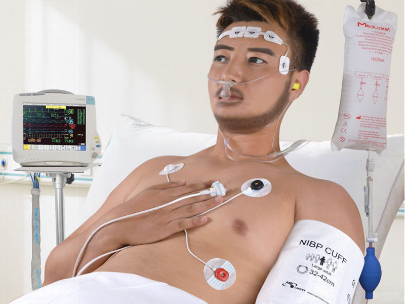 Why does anesthesiology department use disposable spo2 sensor to monitor SpO2