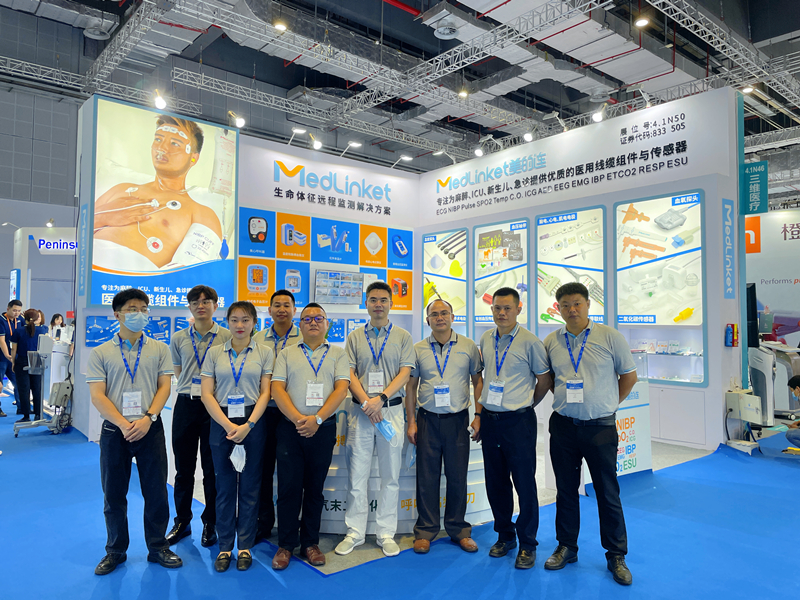 CMEF Exhibition | Medlinket Medical booth is full of surprises, the scene is hot, come and call!