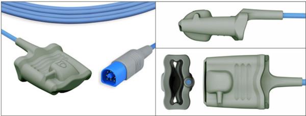 Silicone soft type SpO2 sensor