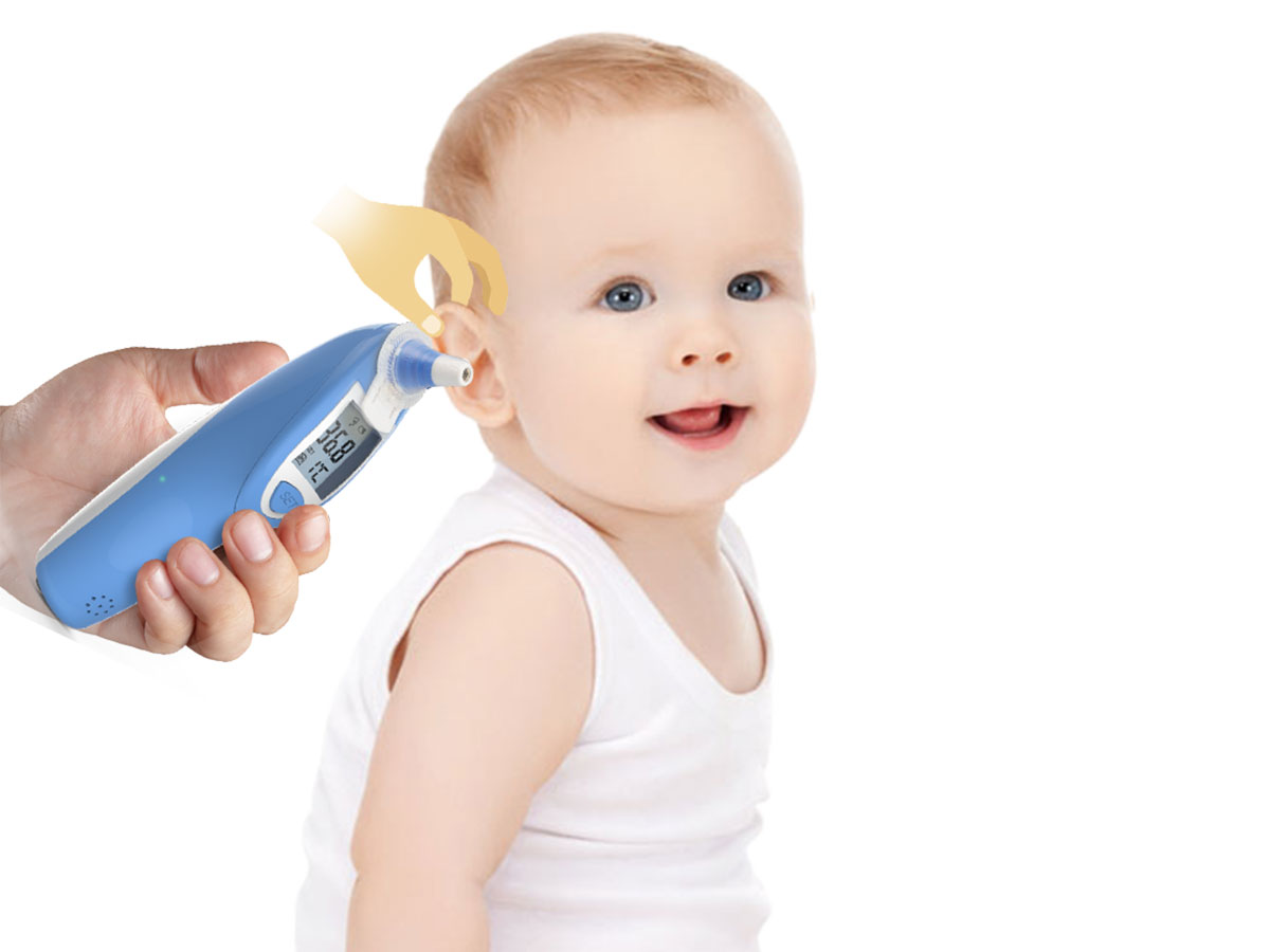 Ear Thermometer and Disposable Probe Cover Featured Image