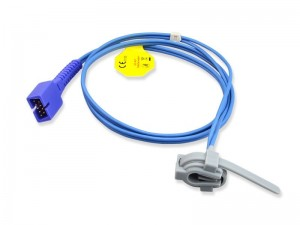 Reusable SpO2 Sensor (ຕ້ອງ ext-cable)
