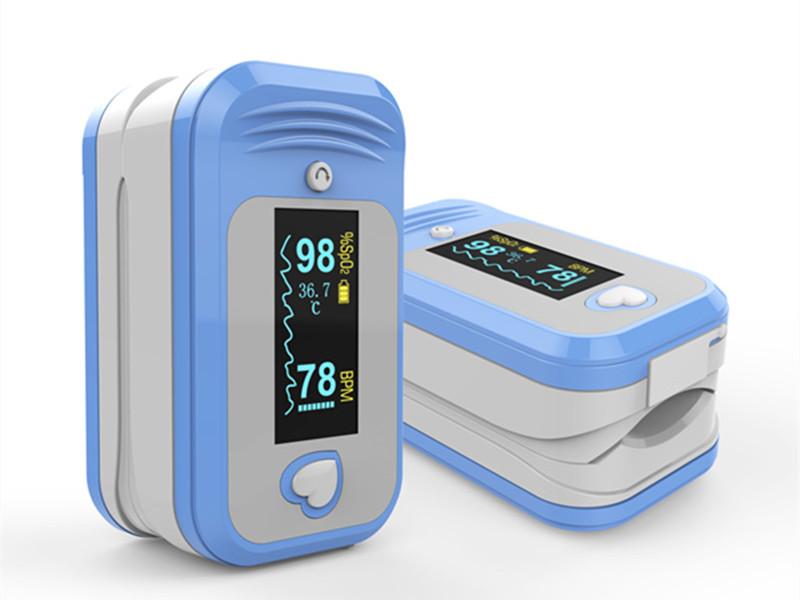 Internationally acclaimed oximeter——Medlinket's temperature-pulse oximeter