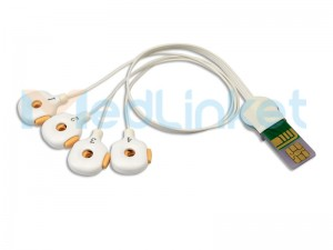 Wegwerp Net-invasive EEG-sensor B0054A