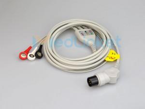 Medlinket ALT / DATASCO Cables compatibles de ECG de conexión directa