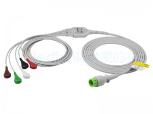 Compatible Biolight Direct-Connect ECG Cables