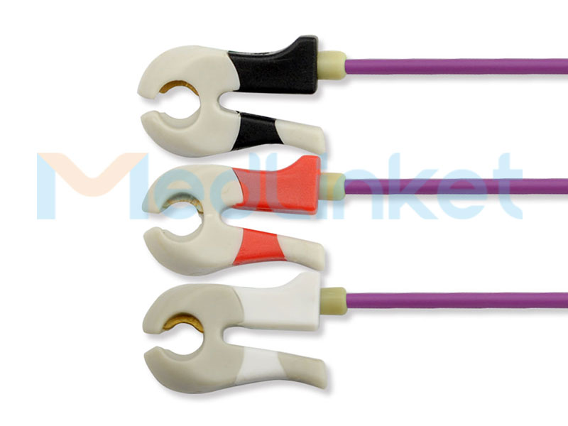 Neonatal DIN type ECG lead wires EC024M3A Featured Image