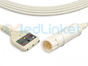 Medlinket Drager/Siemens Compatible Direct-Connect ECG Cables