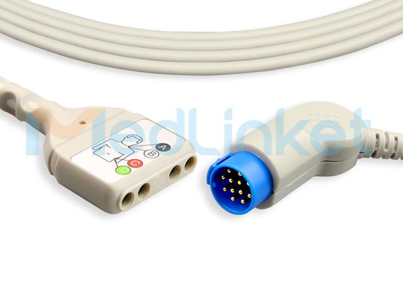 Hot New Products Pulse Oximeter Fingertip - ECG Trunk Cable EC419-4I – Med-link