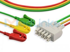 E9003CP Compatible ECG Leadwires EE029A3I-01
