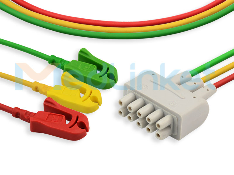 E9003CP-kompatible EKG-Ableitungen EE029A3I-01 Ausgewähltes Bild
