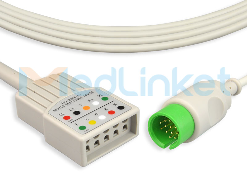 Medlinket SPACELABS Compatible Direct-Connect ECG Cables Featured Image