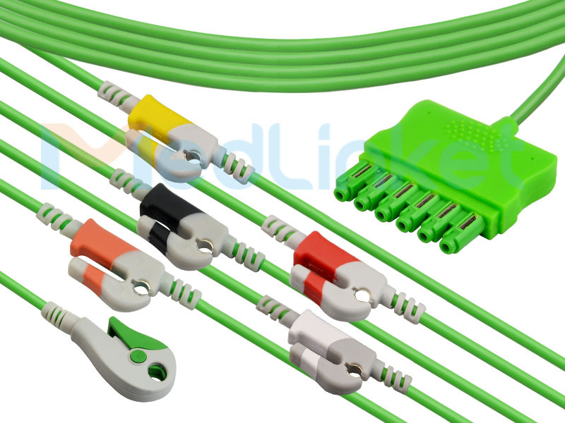 One-line series ECG lead wires ( ms14582) Featured Image