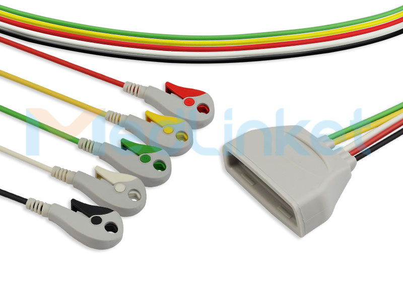Philips MX40 Compatible ECG Telemetry Leadwires (9803171831) Featured Image