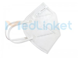 MED-LINKET KN95 Earband Folding Anti-Particulate Mask (KN95-M001)