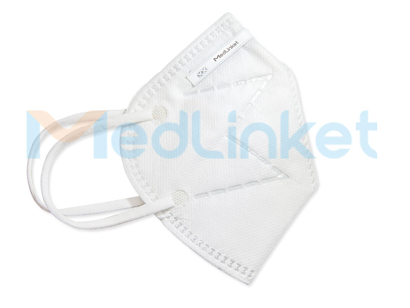 MED-LINKET KN95 Earband Folding Anti-Particulate Mask(KN95-M001) Featured Image