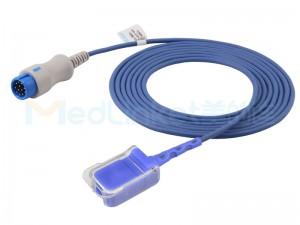 Compatible Comen SpO2 Adapter Cable S0568OX-L