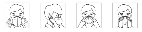 Kn95 mask instructions